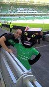 L' image du jour  !!!!!!!!  Kam's Vigan était à Stade Geoffroy-Guichard. 31 août, 18:23 · - Association Jeunesse Alcyaquoise