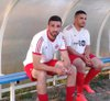 Alex et Kader prêts à entrer en jeu - association sportive celluloise