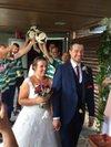 Felicitation amelie sacha  pour votre mariage sacha ancien ! Joueurs de ash  et fils de martin membre de comité - A.S.  HAUSGAUEN