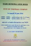 Fête du Football Féminin - Association Sportive Giennoise