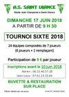 tournoi de sixte le 17 juin 2018 - Association Sportive de Saint-Viance