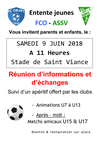ecole de foot - Association Sportive de Saint-Viance