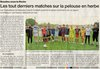 PRESSE DU 22 AVRIL 2016 - BEAULIEU SPORTS FOOTBALL (Vendée)