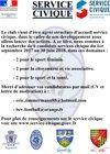 SERVICE CIVIQUE BCV FC - Bulgnéville Contrex Vittel Football Club