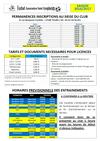 Inscriptions saison 2016-2017 - FASS Tours Saint Symphorien
