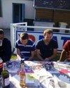 Journée canoë et BBQ en compagnie des seniors et des joueur de Pont authou - Football Club Harcourt