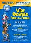 AFFICHE VIDE GRENIER 2015 - FC PONT DE LA PYLE
