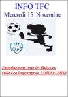 Reprise des entraînements en salle pour les babys - Tergnier Football Club