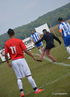Début du championnat séniors .lancé par M Michel Jouyet maire d'Écos - FOOTBALL CLUB VEXIN SUD