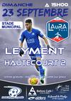 LEYMENT /HAUTECOURT DIMANCHE 23SEPT A 15 H - Football Olympique Leymentais