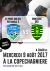 Match amical Le Poiré sur vie - Montaigu Le 9 Août 2017 Venez Nombreux - ES La Copechagniere