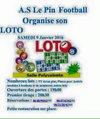 Loto du Foot 2015 - A.S Le Pin