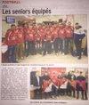 Remise des Maillots de Coupe de France , Pack Echauffement et Présentation nouveau Maillots - Us Lillebonnaise