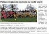 ANNEE 2014 ECOLE DE FOOT - USCere et Landes
