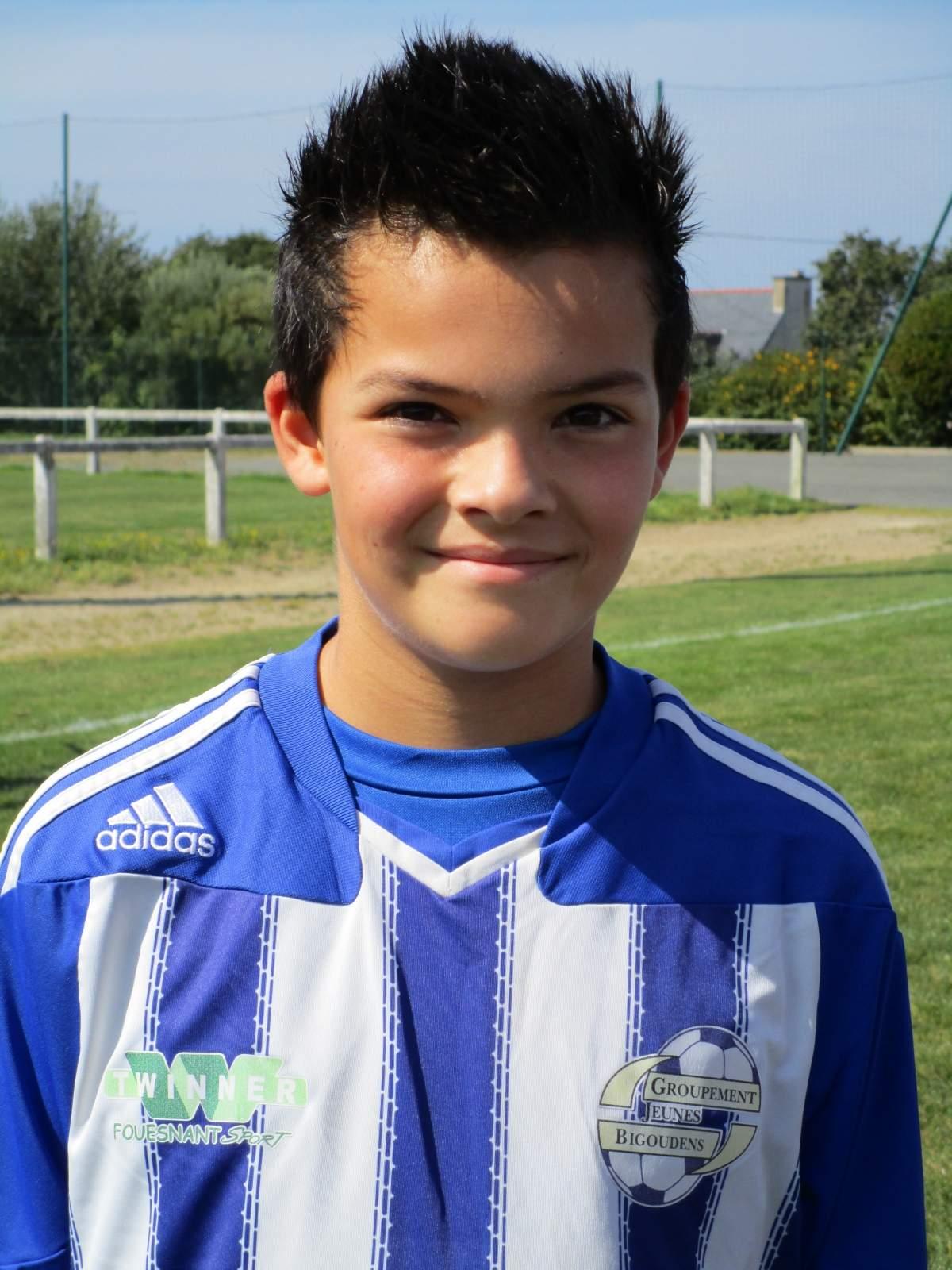 Joueur - Steven <b>LE GOUIL</b> - club Football GROUPEMENT JEUNES BIGOUDENS - <b>...</b> - steven-le-gouil__nclois