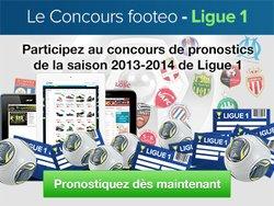Pronostiquez la première journée du concours footeo-Ligue 1 !