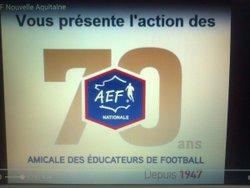 AEF 70 ANS - AEF Nouvelle Aquitaine nos representants de l' AEF17 a BORDEAUX - AMICALE DES EDUCATEURS DE CHARENTE-MARITIME