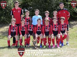 Photos des équipes du tournoi U11/U13 2017 - AEPR Rezé Football