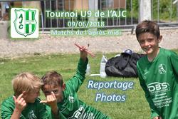 Tournoi U9 de l'AJC - Match de l'après midi (le 09/06/2018) - AMICALE JOSEPH CAULLE BOSC LE HARD