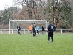 L'équipe A se déplaçait à Puymoyen. Score 1-4 - AM.S VOEUIL ET GIGET