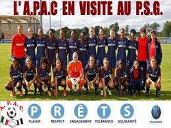 LA SECTION FEMININE DE L'A.P.A.C. EN VISITE AU P.S.G - A.P.A.C CHAMPIGNY SUR MARNE
