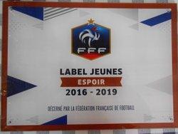 A.P.A.C LABEL QUALITE JEUNE ESPOIR FFF 2016-2019 - A.P.A.C CHAMPIGNY SUR MARNE