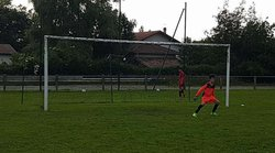 Entrainement U15: Le gardien est chaud patate - ARDANAVY  FOOTBALL   CLUB