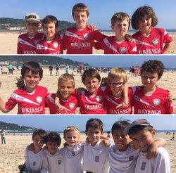 journée des débutants à HENDAYE (foot,plage,soleil,océan):Quoi de mieux? - ARDANAVY  FOOTBALL   CLUB