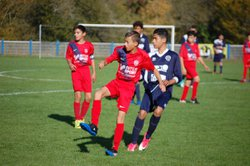 Photos Match U15 contre Créon. 28/10/17 - AS Beautiran Football Club