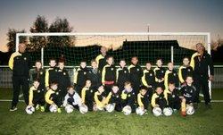 Groupe U9 2017/2018 - Association Sportive Chapelloise