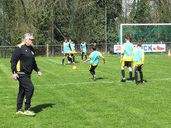 QUALIFACATION POUR LES 8em DE FINALE U13  COUPE JOUVENET - AS CUINCY FOOTBALL