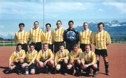 1/2 finale coupe de district avril 2000 EVIRES-BONS - A.S.EVIRES