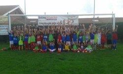 Dernier entraînement de la saison 2015/2016 de l'école de foot - A.S. GREZIEU LE MARCHE