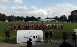 Le derby face à Rosporden en Gonidec, défaite 6 - 0 - Association Sportive de Kernével