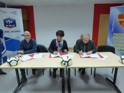 Signature de la Convention Section Sportive de MAZAMET