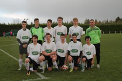 Les U17 match de samedi 25 Novembre - AMICALE SPORTIVE TREMEVENOISE
