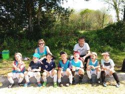Les U7 au tournoi de Clohars Fouesnant le 21-04-18 - AMICALE SPORTIVE TREMEVENOISE