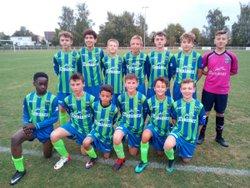 Victoire des U14 Ligue de Lias et Fred contre Saint Quentin : 4/1 - ENTENTE FEIGNIES AULNOYE FOOTBALL CLUB