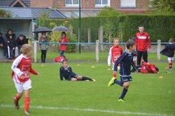 La rentrée du football U8 - U9 : 16/09/2017 - association sportive Bersée