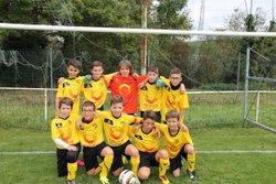 10/10/2016 U13 avec nouveau maillot - AS BETTBORN HELLERING