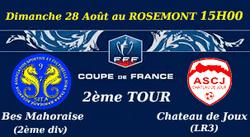 2ème Tour Coupe de France - Soma Tsara MAHORAISE