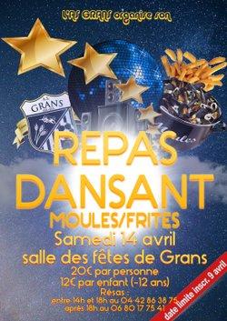 VOUS L'ATTENDIEZ.... ELLE EST LA !!! - A.S. GRANS