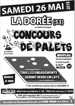 Concours de Palets le 26/05/2018