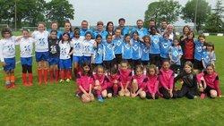 Un label pour les footballeuses du Groupement jeunes de la Pierre Bleue - Avenir Sportif Marsacais