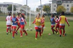 3ième journée de championnat U16 féminine....ASMCB - FCR (1-2) - A.S.Madrillet Château Blanc