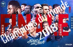LES BLEUS CHAMPIONS DU MONDE !!!!!