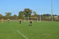 U13 contre les féminines - AS Nord-Est-Creuse