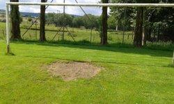 Un peu de pelouse dans les buts !!!! - Association Sportive NOYERS PONT-MAUGIS
