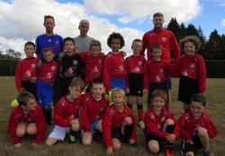 Equipe u9 sept 2016 - Association Sportive Pont de Buisienne