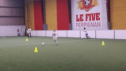 STAGE FOOT - AS PRO-TRAINING GAMES AU FIVE DE PERPIGNAN - JOURNÉE DU 02.11.2017 - ASSOCIATION SPORTIVE DE PRO-TRAINING GAMES